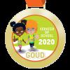 Digitale schoolpoortmedaille Goud 2020